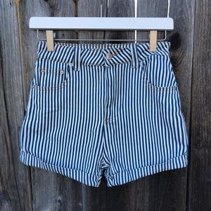 BRAND NEW Forever 21 striped shorts